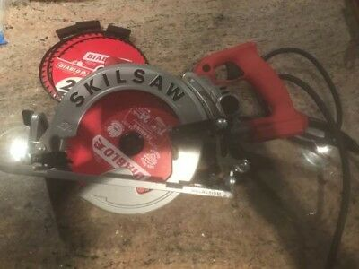 SKILSAW SPT77WM-RT 7-1/4 in. Magnesium Worm Drive Circular Saw