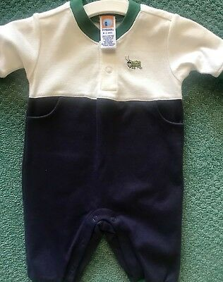 Brand New Gymboree 0- 3 Month Jumpsuit With Adorable Cricket!