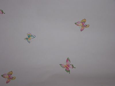 New Waverly Wallpaper Butterfly Toss 6 Double Rolls Available Price is Per Roll