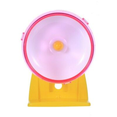 Pet Rat Mouse Hamster Running Wheel Silent Exercise Scroll Activity Gerbil Toy