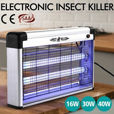 Insect Killer Mosquito Pest Fly Bug Zapper Catcher Trap Electric UV-A LED