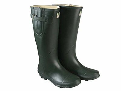 Town  Country TFW2536 The Bosworth Wellington Boots Green