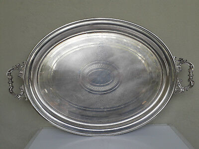 Antique  Germany.  WMF. silvering ,  Beautiful  Large   Serving Tray.
