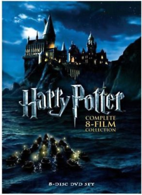 Harry Potter:Complete 1-8 Film Collection (DVD, 2011, 8-Disc Box Set) New Sealed