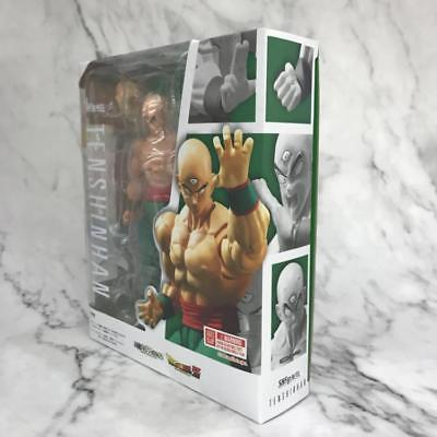 S.H.Figuarts SHF Dragon Ball Z Tien Shinhan Action Figures Box Packed