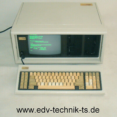 Compaq Portable 286, 640KB, HD 20MB, Floppy 1,2MB,Kondensatoren NEU,Top Zustand!