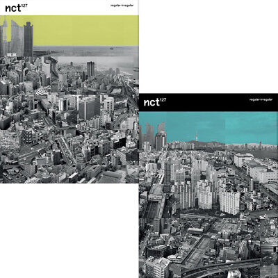 NCT 127 [REGULAR-IRREGULAR] 1st Album 2Ver SET 2CD+1POSTER+2Book+2Card+2PreOrder