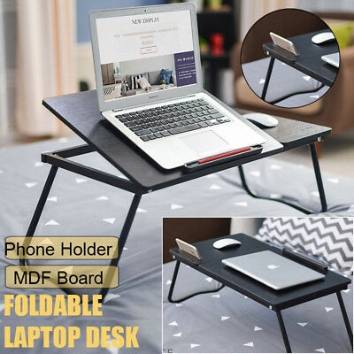 Multipurpose Portable Foldable Laptop Table Stand Tray Desk Sofa bed Adjustable