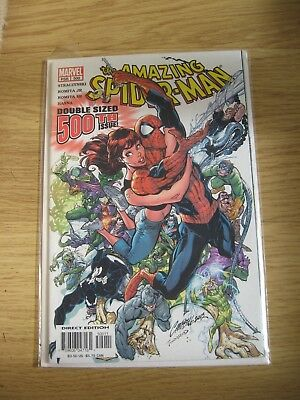 MarvelPSR 500 Amazing Spider Man ,double sized 500th issue,Direct Edition