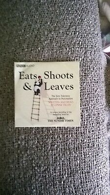 the sunday times/bbc audio cd: eats shoots and leaves-lynne truss