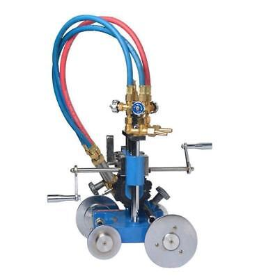 Big hand Pipe Cutting Beveling Machine Torch Track Cutter SS
