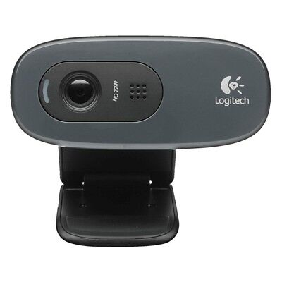 Logitech C270 HD Webcam USB 2.0 with Built in Microphone