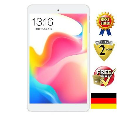 "8"" ZOLL TABLET PC 16GB 2GB QUAD CORE IPS DUAL WIFI OTG GPS​ G-sensor​ Android5.1"