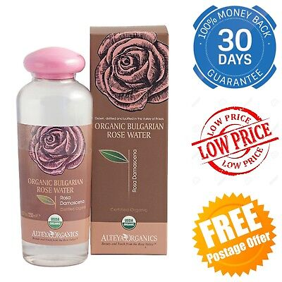 Bulgarian Organic Rose Water Skin Care Face Pure Haircare Cooking Aromatherapy