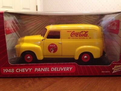 Coca-Cola 1948 Chevy Panel Delivery Johnny Lightning