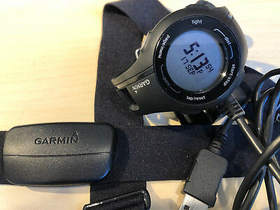 Garmin Forerunner 210 GPS running watch with heart rate strap