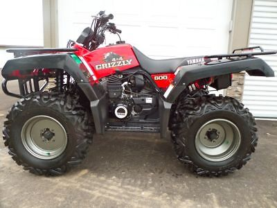 1998 Yamaha Grizzly 600 Auto 4x4  525 Miles From New - Unbelievably Clean