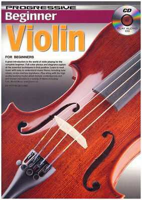 Peter Gelling: Progressive Beginner Violin (Including Play-Along CD)