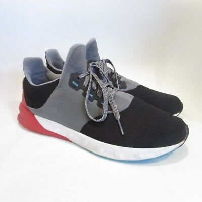 06c14d77430d6 ADIDAS FALCON ELITE 5 V Black Grey Red Men s Running Shoes Sneakers - Size  11.5 -  39.99