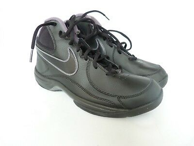 d9051d75829 MEN S NIKE THE Overplay VIII Black Basketball Shoes Sz 8 511372-010 ...