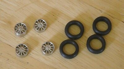 "1/43rd scale 11 spoke alloy  wheels by K&R Replicas for cars with 16"" wheel"