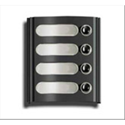 Elvox Module With 4 Buttons Anthracite 8004/21