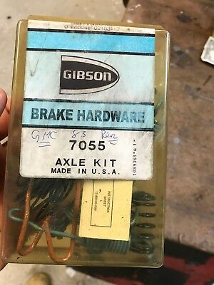 Drum Brake Hardware Kit Rear GIBSON 7055 MADE IN THE USA