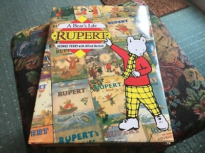 A Bear's Life Rupert Book George Perry with Alfred Bestall 1985 Hardback