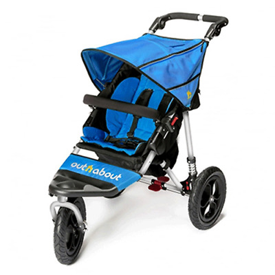 OutnAbout Nipper V4 Pushchair - LAGOON BLUE - BRAND NEW - UK - SALE