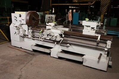 "25""/52"" x 96""/156"" LeBlond Regal, sliding gap bed lathe"