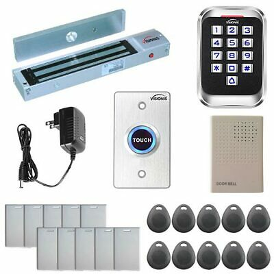 VISIONIS ONE DOOR Access Control with Outdoor Metal Touch ... on