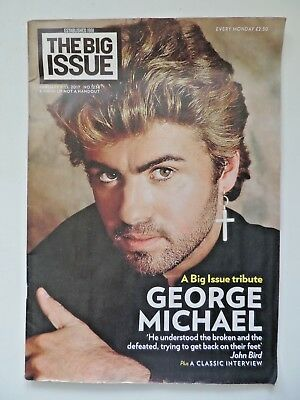 Big Issue no.1238 Jan 2017 Tribute to George Michael - all proceeds to charity