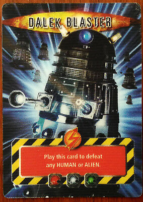 Doctor Who Battles In Time –  Dalek Blaster & Macra Claws Hologram Cards