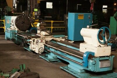 "40""/54"" x 198"" Poreba gap bed engine lathe"