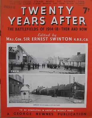 Vintage historical magazines - 20 Years After (World War 1). 36 issues.