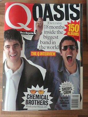 Q Magazine September 1997 - Chemical Brothers - Sheryl Crow - Genesis - Oasis