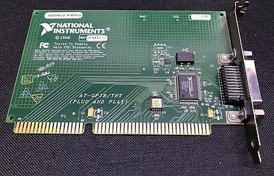 National Instruments NI AT-GPIB / TNT IEEE 488.2 PCI Card - 183663C-01