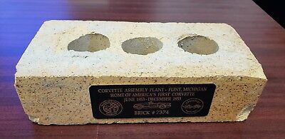 National Corvette Museum Official Brick great gift c1 c2 c3 c4 c5 c6 cy
