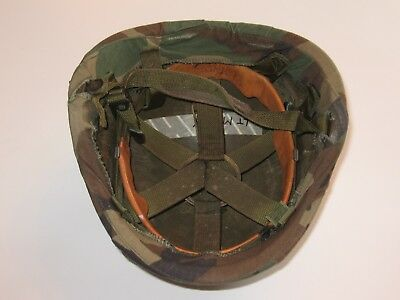 Used U.S. Military PASGT Helmet (NSN: 8470-01-092-7527) w/ Cover (Size: Medium)