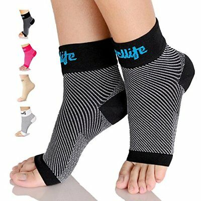 Dowellife Plantar Fasciitis Socks Compression Foot Sleeves with Ankle & Arch