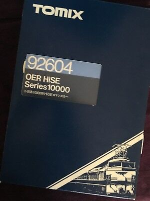 Tomix #92604 Series 10000, OER HiSE N gauge Train, never used boxed set