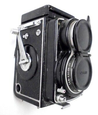1958-1960 Sawyers Mark lV 127 Seikosha Film Camera MXL 4x4 Reflex For Parts