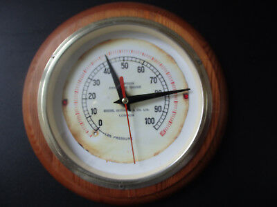 Diving interest, Siebe Gorman face Gauge clock with quartz movement