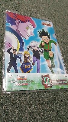 Hunter x Hunter- Clear File Folder & Sticker Set- Japan Prize- Ichiban-Banpresto