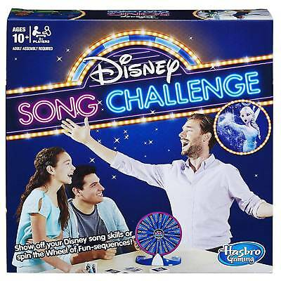 Disney Song Challenge Sing A Long Board Game by Hasbro