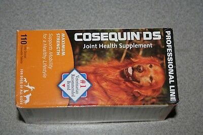 Cosequin DS 110 Tablets Maximum Strength Joint Health Supplement Exp 10/2021 NEW