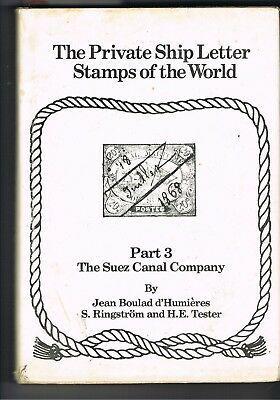 Egypt Stamps #888 Suez Canal Company Stamps Book By Jean Boulad D'humieres