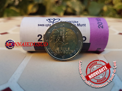 2 Euro Commémorative Luxembourg 2018 - Grand Duc Guillaume