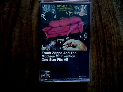 MC Musik Kassette Frank Zappa Mothers of Invention One Size fits all WEA Germany