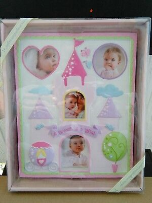 Nib.disney Baby Picture Photo Frame Princess Castles